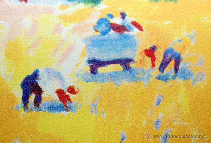 Arte: RAMÓN SANVISENS I MARFULL (Barcelona, 1917-1987) LITOGRAFÍA FIRMADA POR EL ARTISTA. 55/225 - Foto 6 - 46069026