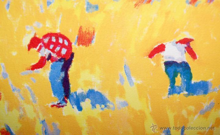 Arte: RAMÓN SANVISENS I MARFULL (Barcelona, 1917-1987) LITOGRAFÍA FIRMADA POR EL ARTISTA. 55/225 - Foto 7 - 46069026