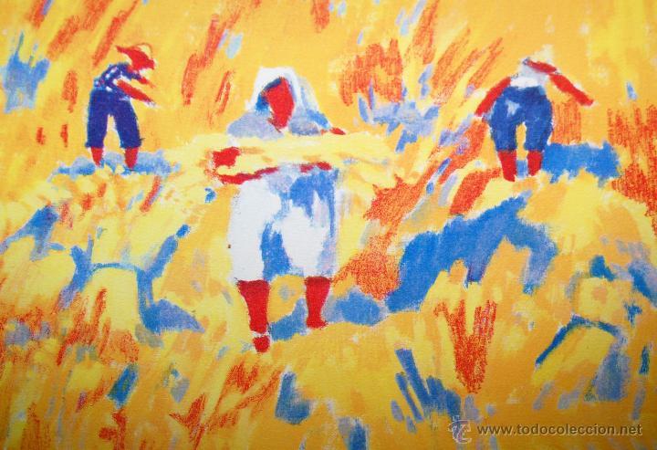 Arte: RAMÓN SANVISENS I MARFULL (Barcelona, 1917-1987) LITOGRAFÍA FIRMADA POR EL ARTISTA. 55/225 - Foto 8 - 46069026