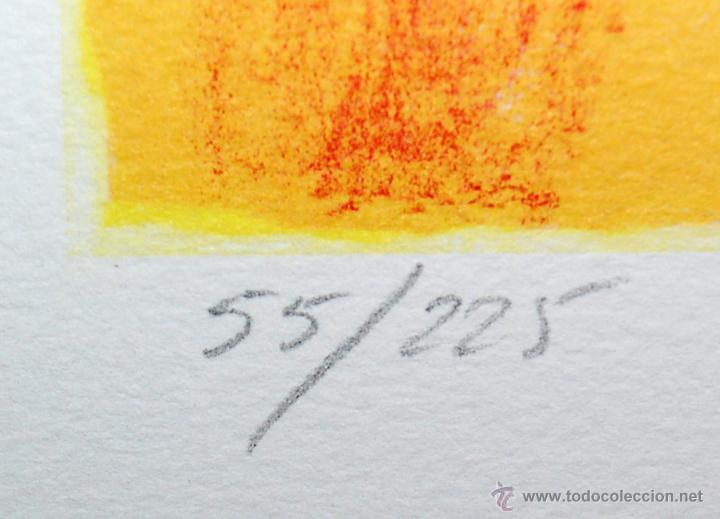 Arte: RAMÓN SANVISENS I MARFULL (Barcelona, 1917-1987) LITOGRAFÍA FIRMADA POR EL ARTISTA. 55/225 - Foto 10 - 46069026
