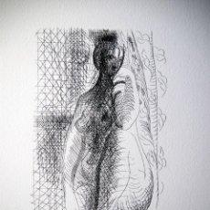 Arte: PICASSO, P. (1881-1973). ILUSTRACION PARA SUITE VOLLARD. NUM. 1013/1200. FIRMA. Lote 46105707
