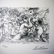 Arte: PICASSO, P. (1881-1973). ILUSTRACION PARA SUITE VOLLARD. NUM 412/1200. FIRMA. Lote 46108101