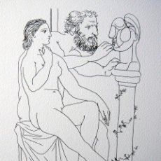 Arte: PICASSO, P. (1881-1973). ILUSTRACION PARA SUITE VOLLARD. NUM. 836/1200. FIRMA. Lote 46121332