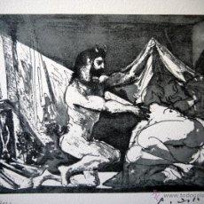 Arte: PICASSO, P. (1881-1973). ILUSTRACION PARA SUITE VOLLARD. NUM. 412/1200. FIRMA. Lote 46121979