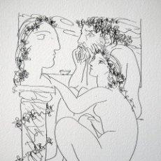 Arte: PICASSO, P. (1881-1973). ILUSTRACION PARA SUITE VOLLARD. NUM. (412/1200). FIRMA. Lote 46122147