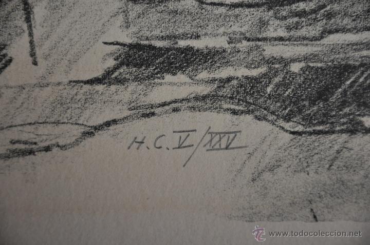 Arte: HUGO ZUHR LITOGRAFIA ORIGINAL FIRMADA Y NUMERADA A LAPIZ , AUTOR DE FINLANDIA - Foto 3 - 47055749