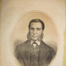 Arte: 1870 LITOGRAFIA DE MENDEZ NUÑEZ. Lote 47083469