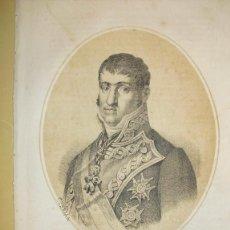 Arte: 1870 LITOGRAFIA DE FERNANDO VII. Lote 47083774