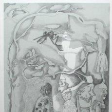 Arte: JORGE CASTILLO - COMPOSICIÓN SURREALISTA 1978. Lote 47242779