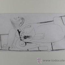 Arte: PICASSO MUJER ATERRORIZADA ESTUDIO PARA EL GUERNICA 5 EDICIÓN FACSÍMIL 1000 EJEMPL SELLO SPADEM. Lote 47252682