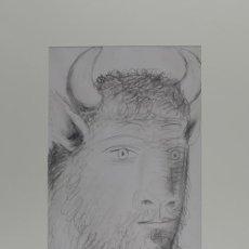Arte: PICASSO CABEZA DE TORO ESTUDIO PARA EL GUERNICA 6 EDICIÓN FACSÍMIL 1000 EJEMPL SELLO SPADEM. Lote 47252780