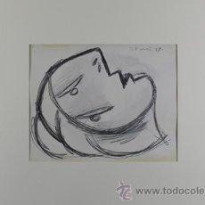 Arte: PICASSO CABEZA DE MUJER ESTUDIO PARA EL GUERNICA 17 EDICIÓN FACSÍMIL 1000 EJEMPLARES SELLO SPADEM. Lote 47255307