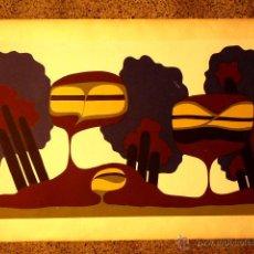 Arte: LITOGRAFIA PERE ARIÑO.NADAL 1973. PRUEBA DE AUTOR. . Lote 47258218