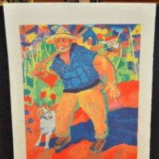 Arte: RAMÓN SANVISENS I MARFULL (BARCELONA, 1917-1987) LITOGRAFÍA FIRMADA POR EL ARTISTA. 53/225. Lote 47296999