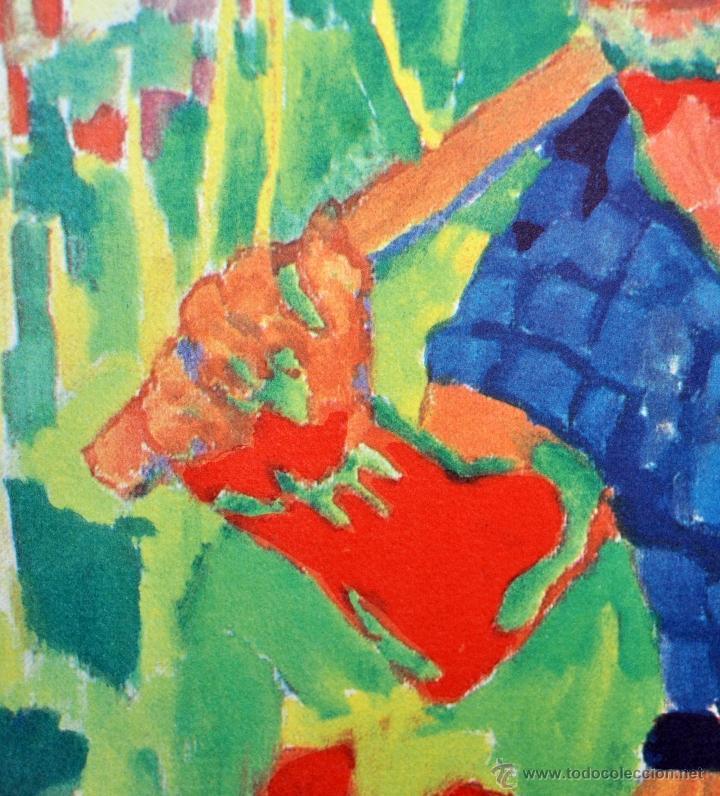 Arte: RAMÓN SANVISENS I MARFULL (Barcelona, 1917-1987) LITOGRAFÍA FIRMADA POR EL ARTISTA. 53/225 - Foto 5 - 47296999