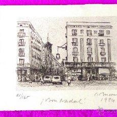 Arte - LITOGRAFIA ORIGINAL,SIMO BUSOM I GRAU FIRMADA I NUMERADA. 24X18,1973,REF BUSOM 9 - 47337948