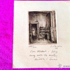 Arte - LITOGRAFIA ORIGINAL,SIMO BUSOM I GRAU FIRMADA I NUMERADA. 19X16,1973,REF BUSOM 5 - 47338139
