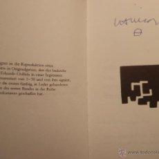 Arte: LITOGRAFÍA DE EDUARDO CHILLIDA FIRMADA. Lote 47348498