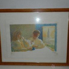 Arte: (M) LITOGRAFIA NUMERADA FRANCESC ARTIGAU , LITOGRAFIA NUMERO 39/250 , ARTIGAU 87. Lote 47557375
