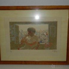 Arte: (M) LITOGRAFIA NUMERADA FRANCESC ARTIGAU , LITOGRAFIA NUMERO 234/300 , ARTIGAU 85. Lote 47557418