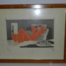 Arte: (M) LITOGRAFIA NUMERADA FRANCESC ARTIGAU , LITOGRAFIA NUMERO 190/300 , ARTIGAU 85. Lote 47557530