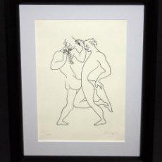 Arte: JOSEP Mª ROSSELLÓ VIRGILI (TARRAGONA, 1950) LITOGRAFÍA ORIGINAL FIRMADA A MANO. TIRAJE 62/100. Lote 48147794