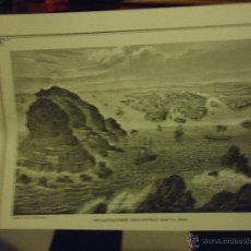 Arte: LITOGRAFIA O GRABADO - HELSINGFORS HELSINKI HACIA 1855. Lote 48680408