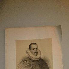 Art: 1853 - RETRATO DE D. FRANCISCO GOMEZ DE SANDOVAL Y ROJAS III CONDE Y I DUQUE DE LERMA. Lote 48687097