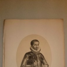 Art: 1853 - RETRATO DE D. PEDRO FERNANDEZ DE CASTRO ANDRADE Y PORTUGAL VII CONDE DE LEMOS. Lote 48688717