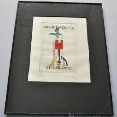 Arte: EL COLGADO CARMEN GRAU 1984 FIRMADA A MANO ARTISTA VALENCIANA. Lote 37151437
