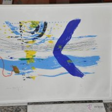 Arte: LITOGRAFIA CONTEMPORANEA FIRMADA Y NUMERADA A LÁPIZ POR EL AUTOR. Lote 49001627