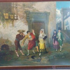 Arte: LITOGRAFIA POR FRANCISCO MITJANA MALAGA (S. XIX) . Lote 49035031