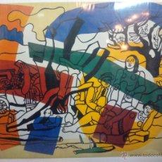 Arte: LITOGRAFÍA IMPRESA DE FERNAND LEGER 1954. Lote 49046032