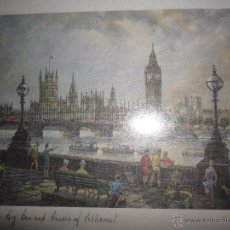 Arte: IMAGEN DE LONDRES. Lote 49341712