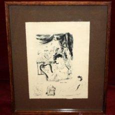 Arte: EMILI GRAU SALA (BARCELONA, 1911- PARÍS, 1975) LITOGRAFÍA ORIGINAL DE LOS AÑOS 30. Lote 49412368