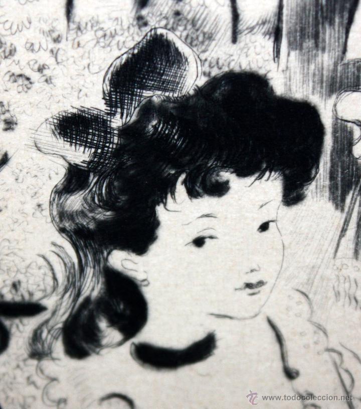 Arte: EMILI GRAU SALA (BARCELONA, 1911- PARÍS, 1975) LITOGRAFÍA ORIGINAL DE LOS AÑOS 30 - Foto 3 - 49412368
