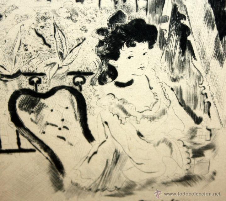 Arte: EMILI GRAU SALA (BARCELONA, 1911- PARÍS, 1975) LITOGRAFÍA ORIGINAL DE LOS AÑOS 30 - Foto 4 - 49412368