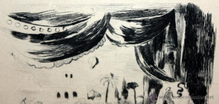 Arte: EMILI GRAU SALA (BARCELONA, 1911- PARÍS, 1975) LITOGRAFÍA ORIGINAL DE LOS AÑOS 30 - Foto 5 - 49412368