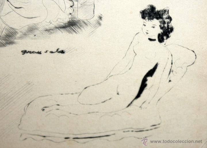 Arte: EMILI GRAU SALA (BARCELONA, 1911- PARÍS, 1975) LITOGRAFÍA ORIGINAL DE LOS AÑOS 30 - Foto 6 - 49412368
