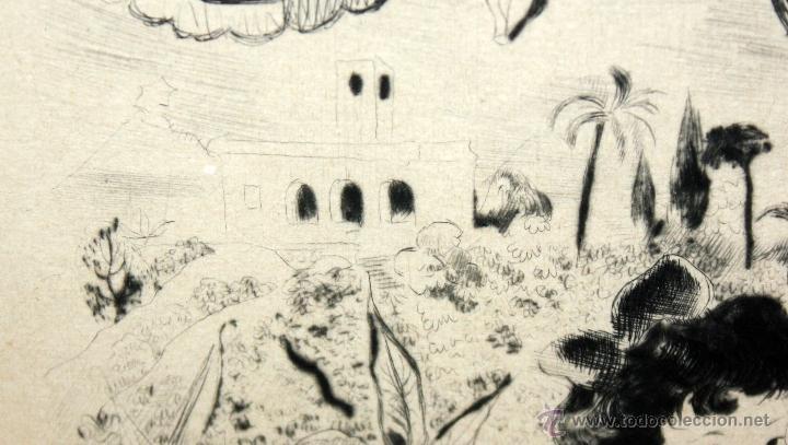 Arte: EMILI GRAU SALA (BARCELONA, 1911- PARÍS, 1975) LITOGRAFÍA ORIGINAL DE LOS AÑOS 30 - Foto 7 - 49412368