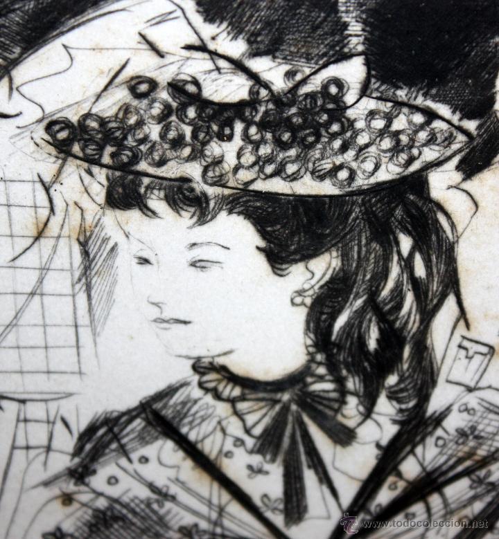 Arte: EMILI GRAU SALA (BARCELONA, 1911- PARÍS, 1975) GRABADO ORIGINAL FIRMADO A PLANCHA - Foto 2 - 49412391