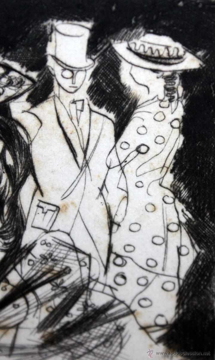 Arte: EMILI GRAU SALA (BARCELONA, 1911- PARÍS, 1975) GRABADO ORIGINAL FIRMADO A PLANCHA - Foto 4 - 49412391