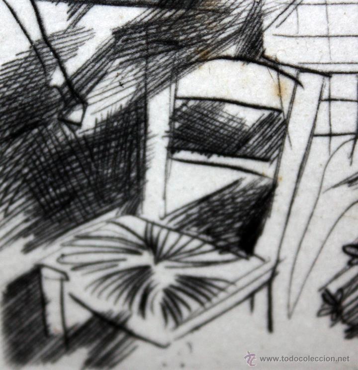 Arte: EMILI GRAU SALA (BARCELONA, 1911- PARÍS, 1975) GRABADO ORIGINAL FIRMADO A PLANCHA - Foto 6 - 49412391