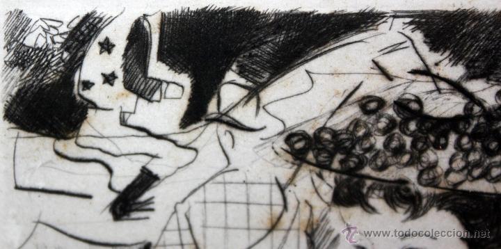 Arte: EMILI GRAU SALA (BARCELONA, 1911- PARÍS, 1975) GRABADO ORIGINAL FIRMADO A PLANCHA - Foto 7 - 49412391