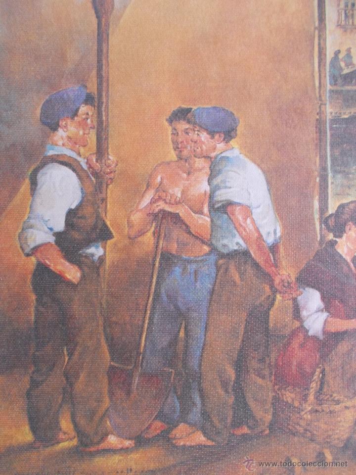 Arte: LITOGRAFÍA JESÚS GALLEGO, PINTOR ASTURIANO, FIRMADA - Foto 3 - 49542725