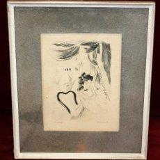 Arte: EMILI GRAU SALA (BARCELONA, 1911- PARÍS, 1975) LITOGRAFÍA ORIGINAL DE LOS AÑOS 30. Lote 49663436