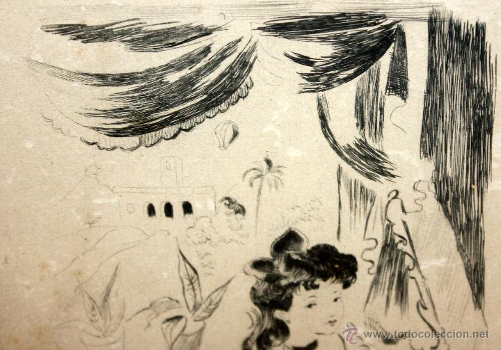 Arte: EMILI GRAU SALA (BARCELONA, 1911- PARÍS, 1975) LITOGRAFÍA ORIGINAL DE LOS AÑOS 30 - Foto 4 - 49663436
