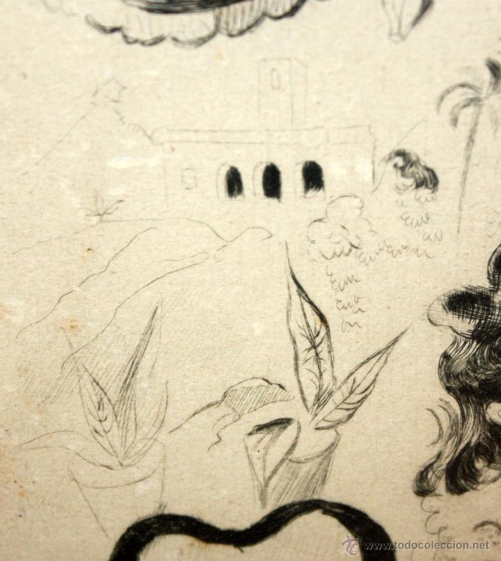 Arte: EMILI GRAU SALA (BARCELONA, 1911- PARÍS, 1975) LITOGRAFÍA ORIGINAL DE LOS AÑOS 30 - Foto 5 - 49663436