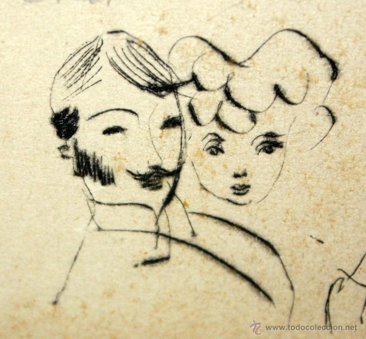 Arte: EMILI GRAU SALA (BARCELONA, 1911- PARÍS, 1975) LITOGRAFÍA ORIGINAL DE LOS AÑOS 50 FIRMADA A LÁPIZ - Foto 6 - 49664095