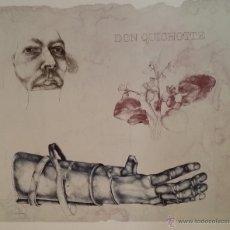Arte: REINER SCHWARZ: DON QUIJOTE, 1993 / LITOGRAFÍA FIRMADA Y NUMERADA A MANO. Lote 49914112